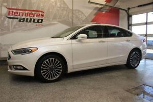 2017 Ford Fusion SE Cuir+Toit+GPS AWD 2.0 Ecobo