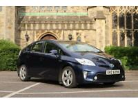 """2012 """"12"""" Toyota Prius T4 Hybrid 🇬🇧 Model £0 Road Tax NOT PCO TAXI MINICAB"""