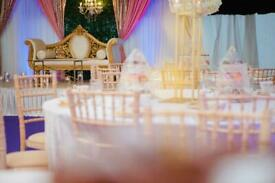 Wedding Stages, Decor, Chair Hire and Flower Arrangements
