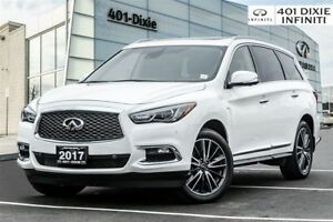 2017 Infiniti QX60 AWD, TechPkg! Navi! 360 Camera! DVD! 20 RIM!