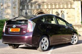 "Fully Loaded 2014 14 Toyota Prius UK Model Hybrid ""T Spirit"" Full Toyota History - Never used as cab"