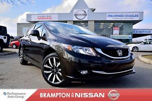 2013 Honda Civic Touring *Leather|NAVI|Rear view monitor*