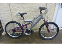 bikes 20inch wheel full suspension bike