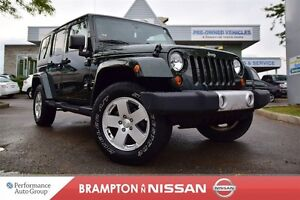 2011 Jeep WRANGLER UNLIMITED Sahara *Softtop, Heated seats,Remot