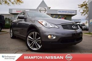 2012 Infiniti EX35 Luxury (A7) *Leather, Rear view monitor, Heat