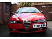 Alfa Romeo 156, mot till March 2017, 170bhp