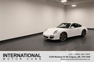 2010 Porsche 911 C4S COUPE! 6 SPEED MANUAL