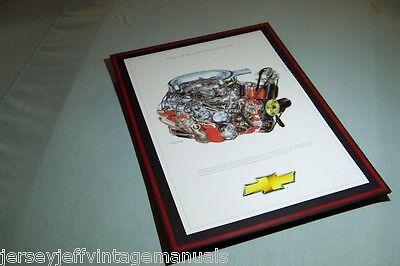 1964 Chevrolet 409 Dual Quad Engine Illustration David Kimble L80 RPO 18x12 comprar usado  Enviando para Brazil