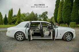 Rolls Royce Phantom hire Oldham / Cheap wedding cars hire Oldham / Vinatge wedding cars hire