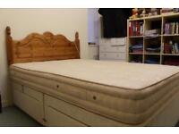 Double Bed ( frame & mattress )