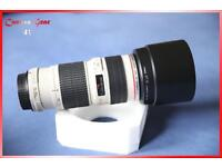 Canon EF 70-200 f4 L USM lens mint condition