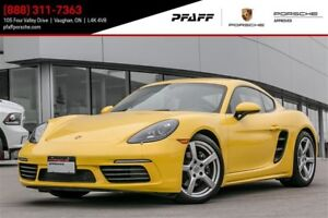 2017 Porsche 718 Cayman - *MANUAL*, 4.99% LEASE RATE!!