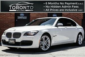 2011 BMW 7 Series Li Xdrive+LWB+M sport+Rear DVD+Heads up Displa