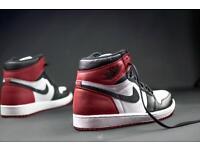 Air Jordan Black Toe UK 8.5