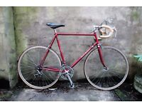 RALEIGH SIROCCO, 23.5 inch, Reynolds 501, racer racing road bike, 10 speed