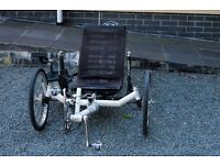 ICE Trice XL Recumbent Trike - Excellent Condition - fully serviced ready to ride