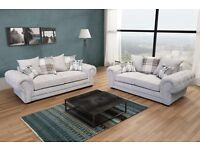 Brand new verona fabric sofa collection, available in a 3+2 set or corner sofa for £700