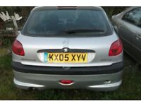 peugeot 206 1.4 hdi breaking for spares has a misfire call