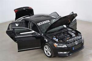 2012 Volkswagen Passat 3.6L Highline GPS+Fender+Cuir+Toit Ouvran