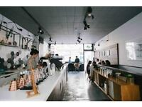 Creative food wizard required for friendly specialty cafe in London