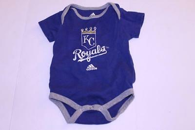 Infant/Baby Kansas City Royals 3/6 Months Creeper One-Piece (Royal Blue) Adidas ()