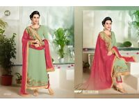 Asian Indian Bollywood designer suits and dresses