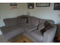 Beige corner sofa for sale