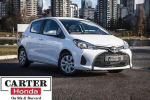 2015 Toyota Yaris LE + BLUETOOTH + LOW KMS + LOCAL + ACCIDENT FR