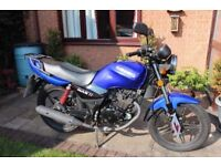 2011 Sinnis Max II (Qingqi ) 125 Motorbike 8610miles on clock