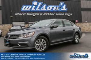2017 Volkswagen Passat TRENDLINE+ REAR CAMERA+SENSORS! HEATED SE