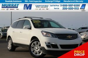 2015 Chevrolet Traverse LT*SUNROOF,REMOTE START,HEATED SEATS*