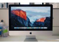 Apple iMac 21.5 4K Core i5 3.1GHZ 1TB HDD 16GB RAM