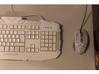 Gaming keyboard and mouse bundle