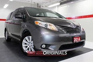 2014 Toyota Sienna XLE AWD Heated Lthr Sunroof Btooth BU Camera