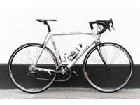 Road bicycle 58 cm carbon fork 20 gears