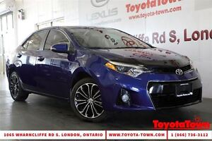 2015 Toyota Corolla LOADED S TECH PACKAGE LEATHER & NAVIGATION