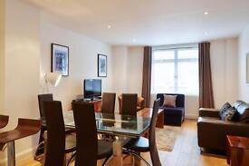 **Modern Vauxhall Serviced 2 Bedroom - All Bills, tax, maid service, free wifi included! Book Now!