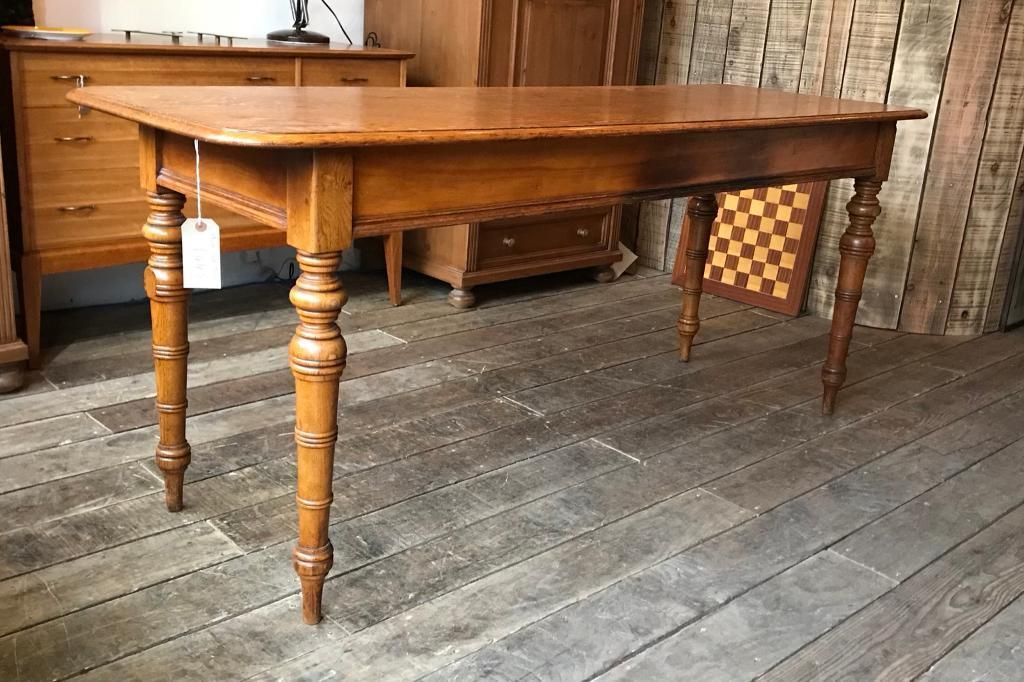 Narrow Oak Dining Table Room Ideas