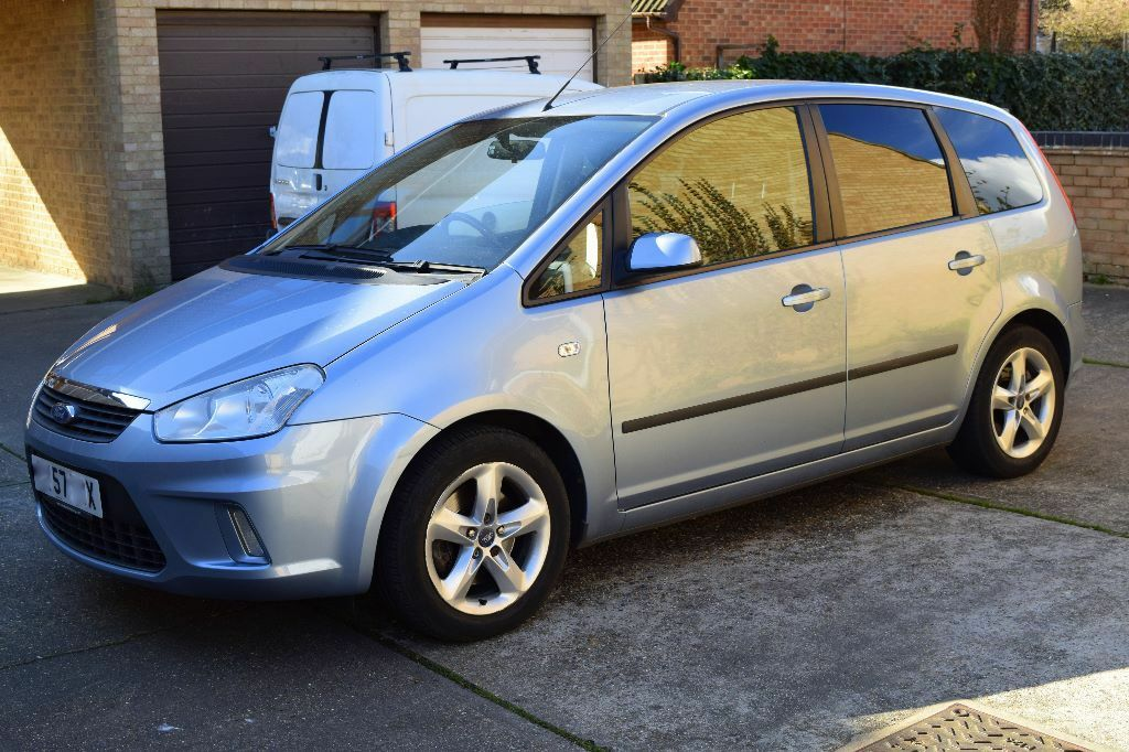 ford focus c max 2007 manual blue 12month mot in. Black Bedroom Furniture Sets. Home Design Ideas