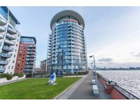 6th Floor Two bed, two bath with balcony & Gym. Orion Point, Odyssey, Crews Street, Docklands, E14