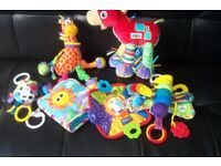 Bundle of Lamaze baby toys only £10 the lot