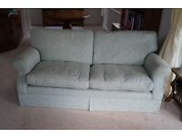 A two and three seater Laura Ashley sofas for sale