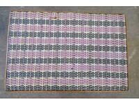 Vintage Style Lloyd Loom Rectangular Table c. 63cm x 43cm