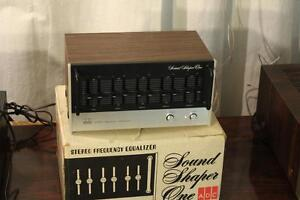 ADC sound shaper 1 equalizer MINT with box