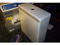Slimline toilet cistern (new)