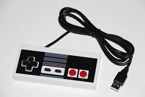 NINTENDO NES-PC USB-MANETTE/CONTROLLER (NEUF/NEW) [VOIR/SEE DESCRIPTION]