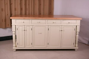 6 ft kitchen island solid maple butcher block