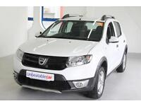 DACIA SANDERO STEPWAY 1.5 dCi Ambiance 5dr (white) 2014