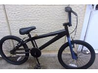 bike BMX 20inch wheels black frame