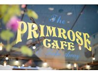 Part-time barista/waiting staff required